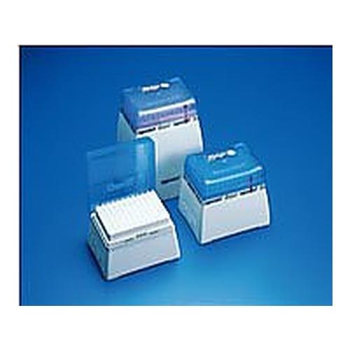 アズワン ピペットチップ(epTIPS) ラック 500~10000 24本/箱×5箱 1箱(24本×5ラック入り) [2-4878-06]