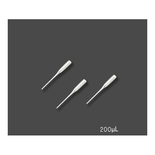 アズワン ピペットエースHGR用 ガラスチップ(ラック入) 200μL 1セット(20本入り) [3-8423-02]