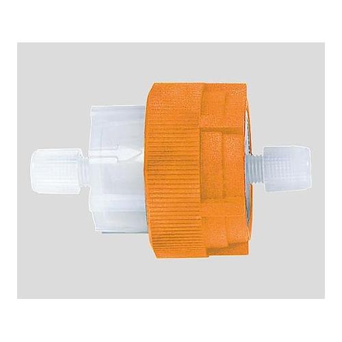 アズワン フッ素樹脂製フィルターホルダ(φ47mm用) Tefzel(R)製ホルダセット 1セット [2-740-02]