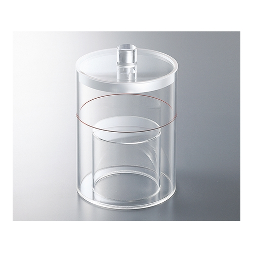 アズワン マリネリ容器 1.0L φ140×175mm 1個 [3-6592-02]