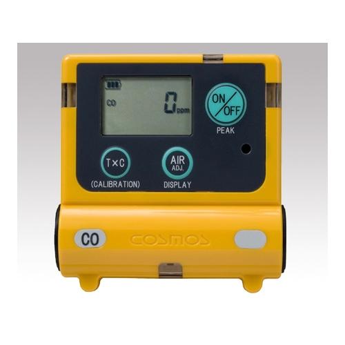 アズワン 装着型ガス濃度計 0~300ppm(300~2000ppm) 校正証明書付 1台 [1-8793-12-20]