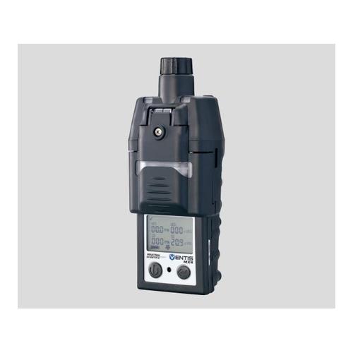 アズワン マルチガスモニター(MX4シリーズ) 吸引式 校正証明書付 1台 [2-9982-04-20]