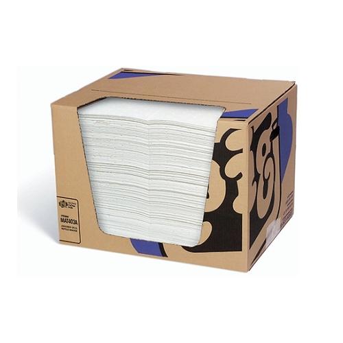 アズワン ピグ(R)油専用エコノミーマット 100枚入 1箱(100枚入り) [61-3592-87]