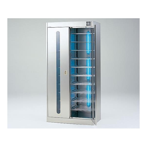 アズワン 紫外線殺菌ロッカー(ステンレス仕様) 棚板仕様 1台 [2-7978-04] [個人宅配送不可]