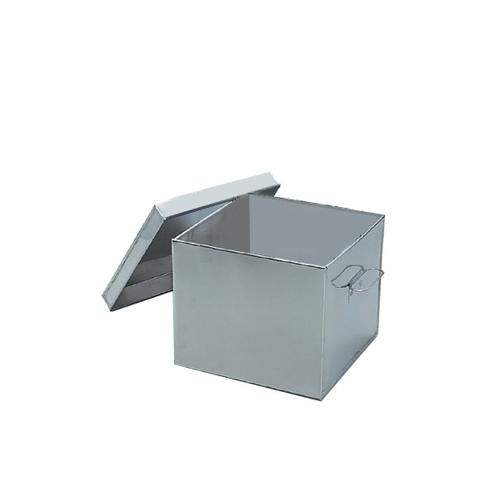 アズワン 滅菌缶 240×240×200mm 1個 [4-197-01]