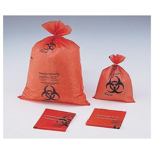 アズワン 滅菌表示付オートクレーブバッグ オレンジ 970×1190×0.05mm 1袋(100枚入り) [7-5324-04]