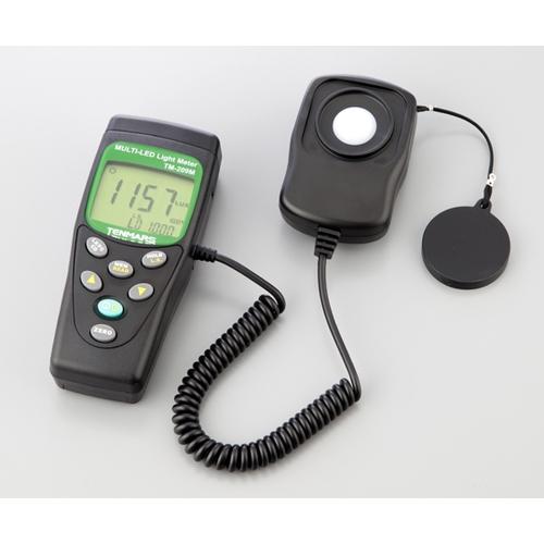 アズワン 照度計 校正証明書付 1台 [1-1633-02-20]