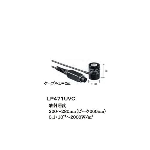 アズワン 照度・輝度・放射照度計 プローブ(放射照度 UVC領域) 1台 [1-2559-18]