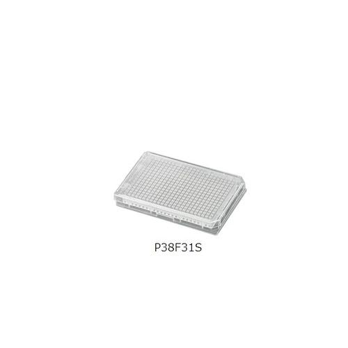 384ウェルプレート M(ポリスチレン) アズワン 1セット(50袋入り) [3-7495-01]