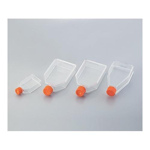 アズワン 細胞培養用フラスコ(ベントキャップ/カントネック) 70mL 1ケース(20個×10包入り) [2-2063-02]