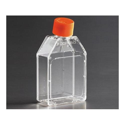 アズワン 細胞培養用フラスコ(プラグシールキャップ/カントネック) 70mL 1ケース(20個×25包入り) [2-2063-01]