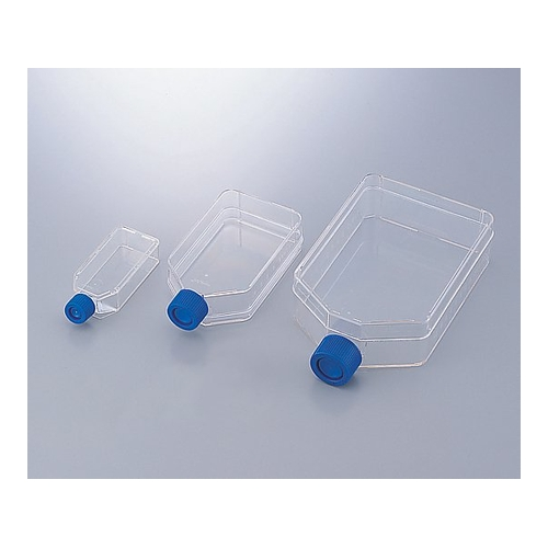 アズワン 組織培養フラスコ 260mL 1ケース(5個×10包入り) [2-5466-04]