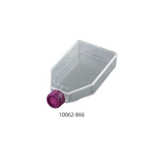 アズワン 組織培養用フラスコ 600mL 40個入 1ケース(5個×8包入り) [3-851-08]