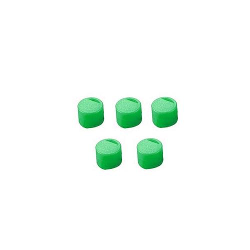 アズワン クライオチューブ用 キャップインサート(緑)500本/袋×4袋入 1箱(500個×4袋入り) [3-6367-02]
