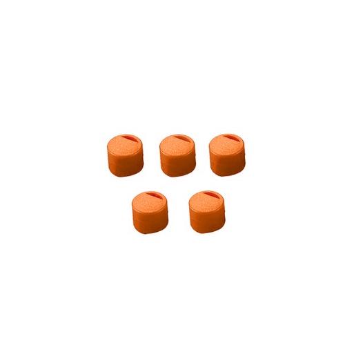 アズワン クライオチューブ用 キャップインサート(オレンジ) 500本/袋×4袋入 1箱(500個×4袋入り) [3-6367-03]