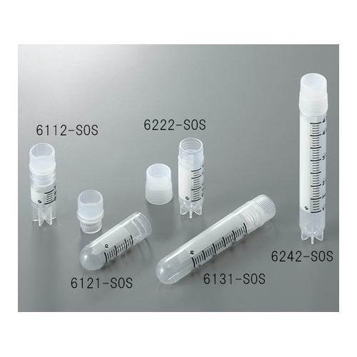 アズワン クライオチューブCryoFreeze(R) 1.0ml 内ネジ・自立型 50本/袋×10袋入 1箱(50個×10袋入り) [3-6368-01]