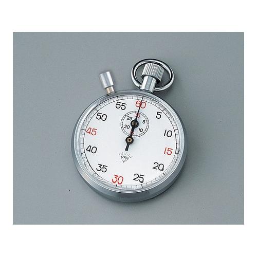 アズワン ストップウォッチ(手巻き式) 30分計 校正証明書付 1台 [1-7016-04-20]
