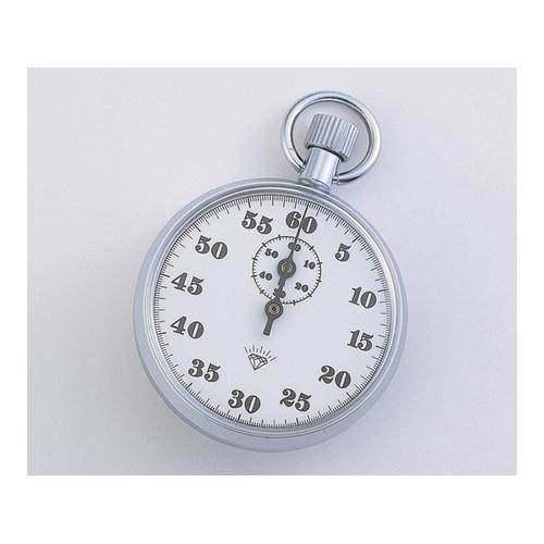 アズワン ストップウォッチ(手巻き式) 60分計 校正証明書付 1台 [1-7016-06-20]