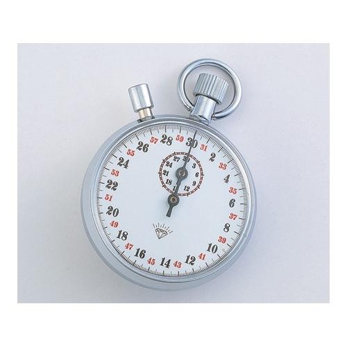 アズワン ストップウォッチ(手巻き式) 30分計 校正証明書付 1台 [1-7016-07-20]
