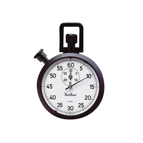 アズワン ABSアナログストップウォッチ30分計 1周60秒 最小:1/5秒 校正証明書付 1個 [3-6930-01-20]