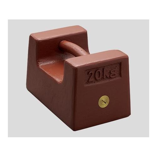 アズワン 枕型分銅 M1RF-5KA 5kg 1個 [2-441-03]