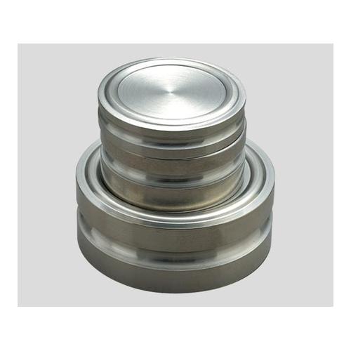 アズワン 円盤分銅 M1DS-2KA 2kg 1個 [2-487-04]