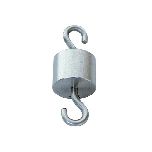 アズワン 特殊分銅 円筒型上下フック付 2kg 1個 [3-8488-04]