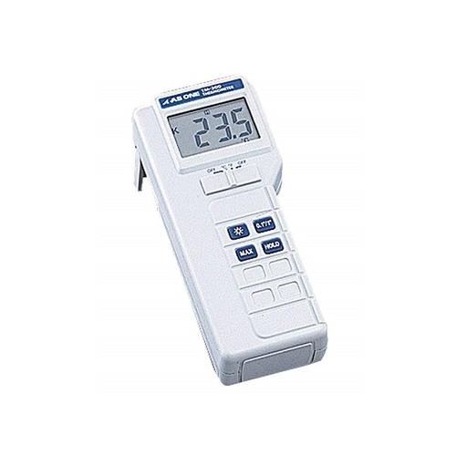 アズワン デジタル温度計 1ch 校正証明書付 1台 [1-5812-01-20]