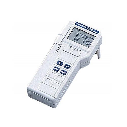 アズワン デジタル温度計 2ch 特急校正証明書付 切替式 1台 [1-5812-02-23]