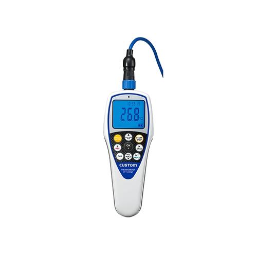 アズワン 防水型デジタル温度計 タイマー機能付 校正証明書付 1台 [1-6785-12-20]