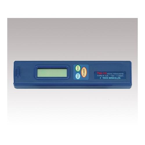 アズワン デジタル温度計 校正証明書付 1台 [1-6880-01-20]