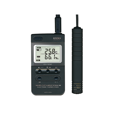 アズワン 高性能デジタル温度湿度計 1個 [2-2740-31]