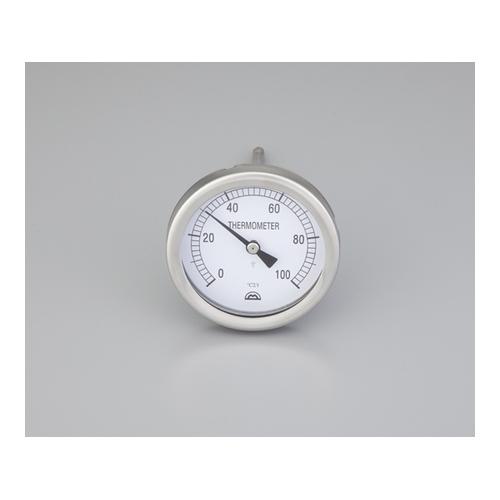 アズワン バイメタル温度計 センサー形状:T 1個 [2-3226-01]