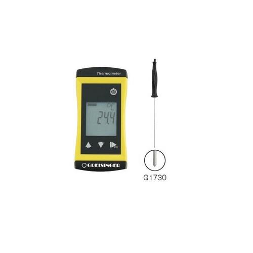 アズワン コンパクト高精度温度計 Φ1.5mm心温プローブ 1個 [3-8566-03]
