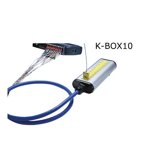 アズワン 熱電対中継ボックス K熱電対 70×175×45mm 1個 [3-8542-01]