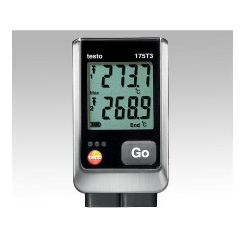 アズワン 温度データロガー Testo175 T3 1台 [1-3234-01]