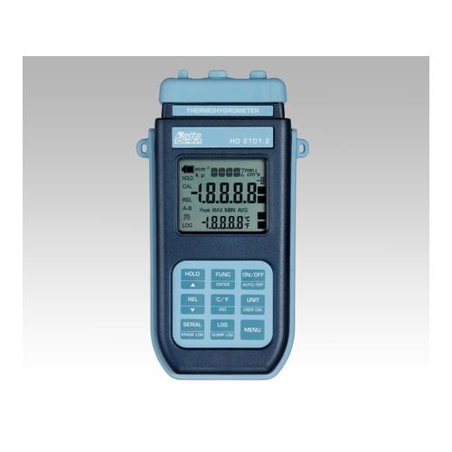 アズワン 温湿度計 本体 データロガータイプ 1台 [1-3447-01]