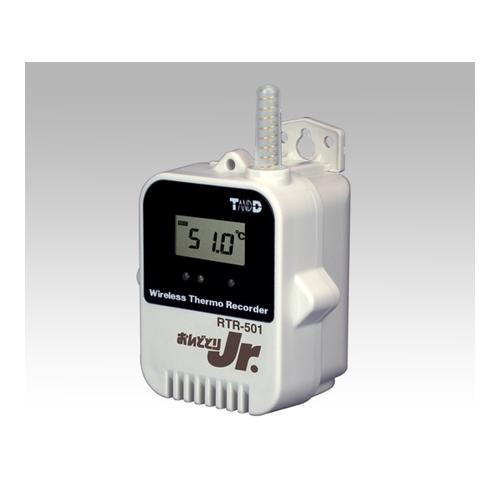 アズワン おんどとり ワイヤレスデータロガー(子機)温度×1ch(内蔵)大容量バッテリー 1台 [1-3520-02]