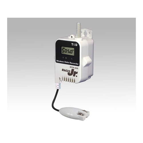 アズワン おんどとり ワイヤレスデータロガー(子機)温度(Pt100/1000)×1ch 大容量バッテリー 1台 [1-3523-02]