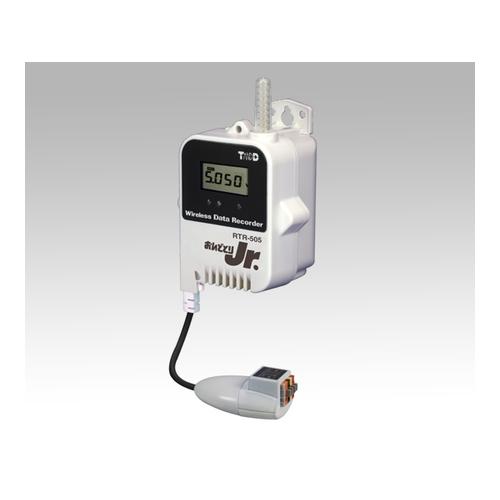 1台 おんどとり ワイヤレスデータロガー(子機)電圧×1ch アズワン [1-3525-02] 大容量バッテリー