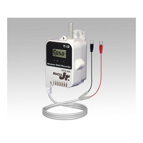 アズワン おんどとり ワイヤレスデータロガー(子機)無電圧接点・電圧パルス×1ch 大容量バッテリー 1台 [1-3527-02]