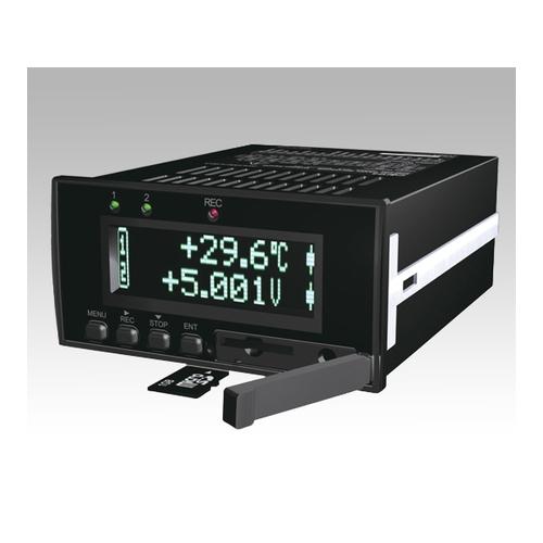アズワン デジタルパネルレコーダ 電圧またはロードセル 1台 [1-3854-03]