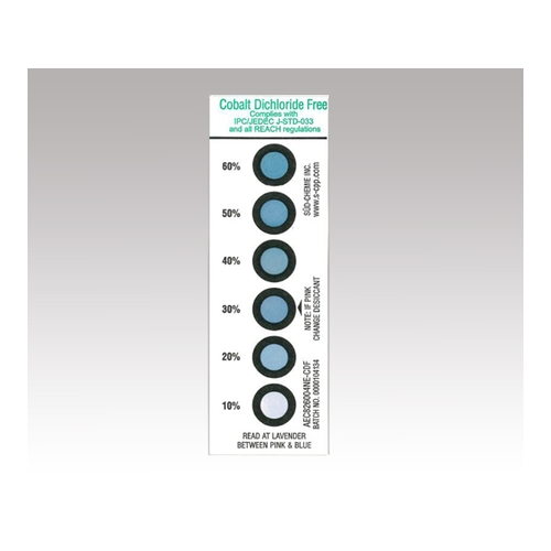 アズワン 湿度インジケーターカード 1缶(50枚入り) [1-4000-02]