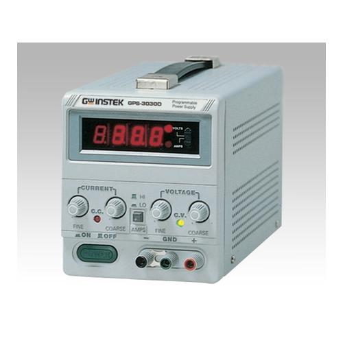 アズワン 直流安定化電源 30V-3A 校正証明書付 1台 [1-3887-03-20]