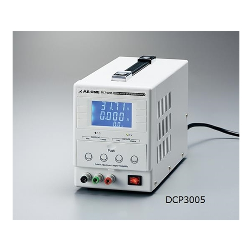 アズワン 高性能直流安定化電源 出力電圧0~30V 出力電流0~3A 校正証明書付 1個 [3-6697-01-20]