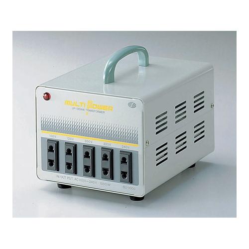 【お気にいる】 1台 [6-7092-02]:セミプロDIY店ファースト 100-240V-4.1A 海外用トランス(MULTI-POWER) アズワン-DIY・工具