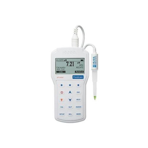 アズワン pH・温度計(半固形食品・乳製品用) 1セット [3-829-01]