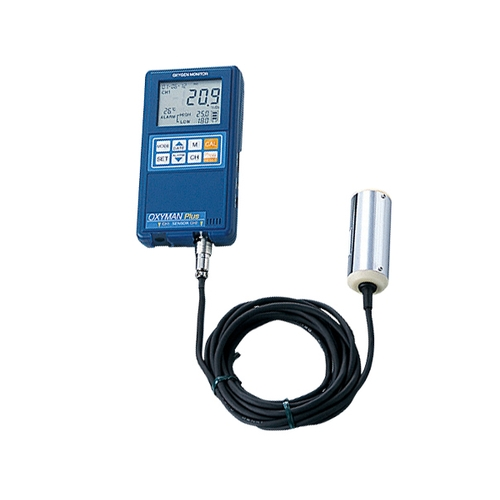 【格安SALEスタート】 アズワン 酸素モニタ(OXYMAN) 内蔵センサー×1 分離センサー×1 1台 [1-5664-03], アゴラショッピング ffa35cf4