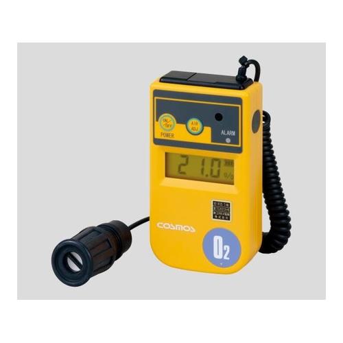 アズワン 酸素濃度計(投げ込み式) 1m(カールコード式) バイブレーション付 校正証明書付 1台 [1-8752-06-20]