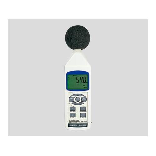 アズワン データロガー騒音計 1台 [2-051-01]